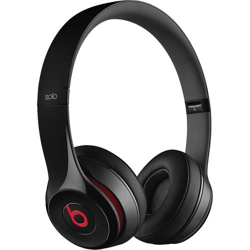 Beats by Dr. Dre Solo2 On-Ear Headphones (Black) MH8W2AM/A