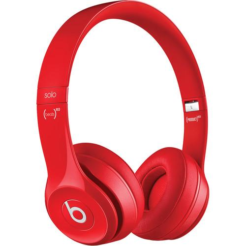 Beats by Dr. Dre Solo2 On-Ear Headphones (Red) MH8Y2AM/A