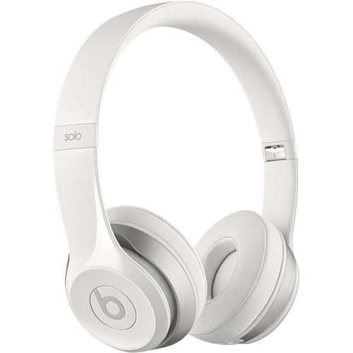 Beats by Dr. Dre Solo2 On-Ear Headphones (White) MH8X2AM/A