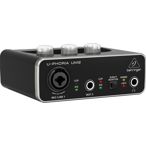 user manual behringer u phoria um2 2x2 usb audio interface um 2 rh pdf manuals com behringer um2 audio interface review behringer audio interface review