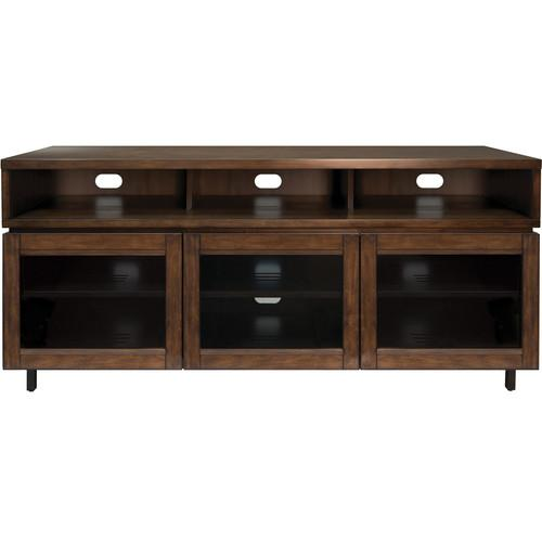 Bell'O PR45 Cocoa Finish Wood Home Entertainment Cabinet PR45