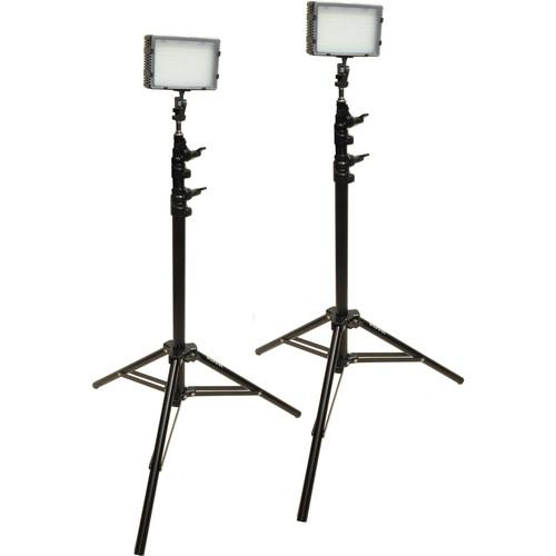Bescor Field Pro FP-180K Bi-Color LED 2-Light Kit FP-180K