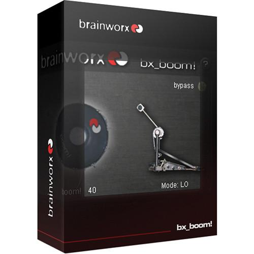 Brainworx bx_boom! - Bass Drum Enhancement Plug-In BXBOOM