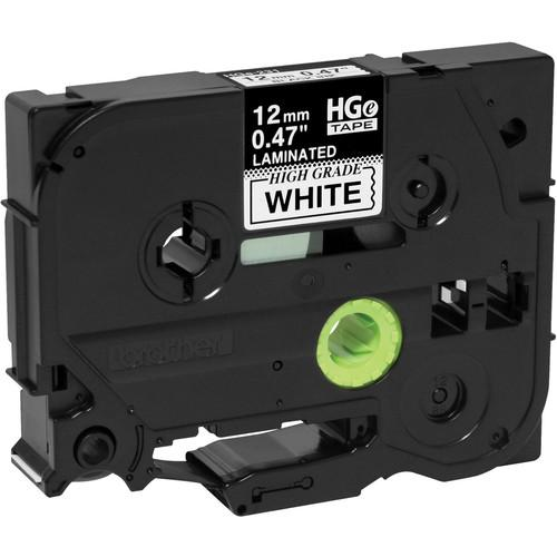 Brother Black on White HGe Tape with Extra-Strength HGES2315PK