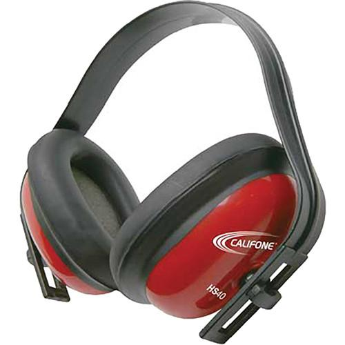 Califone HS40 Hearing Protector Headphones (Red) HS40