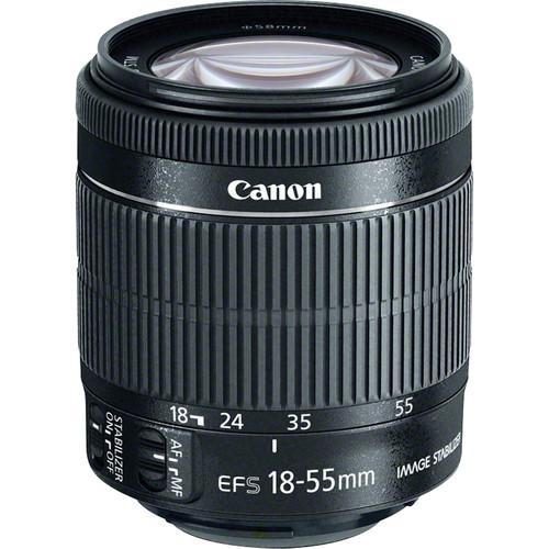 Canon 18-55mm f/3.5-5.6 IS STM Lens (White Box) 8114B002WB