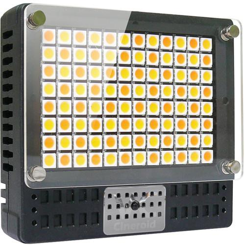 Cineroid 18 Watt On-Camera Variable Color Temperature L10C-VC