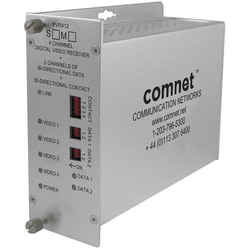 COMNET FVR412M1 4-Channel 10-Bit Digitally Encoded FVR412M1