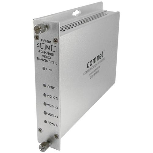 COMNET FVT401M1 4-Channel 10-Bit Digitally Encoded FVT401M1