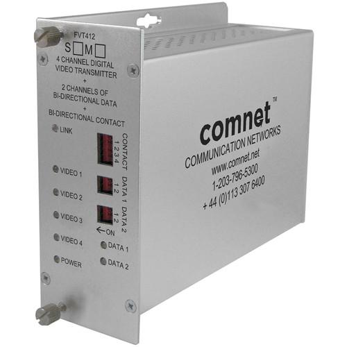 COMNET FVT412M1 4-Channel 10-Bit Digitally Encoded FVT412M1