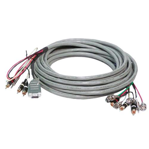 Comprehensive VGA Breakout 50' Install Cable VGA15P-3R5B-50HRAP