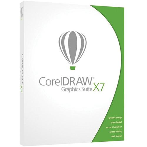 Corel CorelDraw Graphics Suite X7 for Windows CDGSX7ENDB