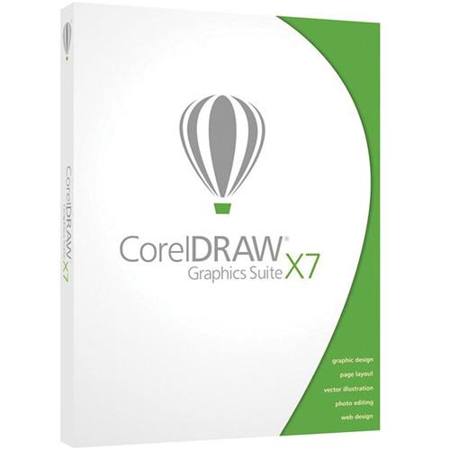 Corel CorelDraw Graphics Suite X7 Upgrade CDGSX7ENDBUG