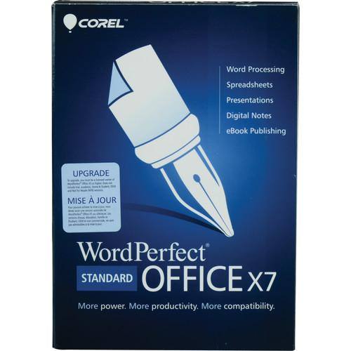 Corel WordPerfect Office X7 Standard Edition WPOX7STDENMBUG