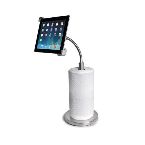 CTA Digital Paper Towel Holder with Gooseneck Stand PAD-PTH