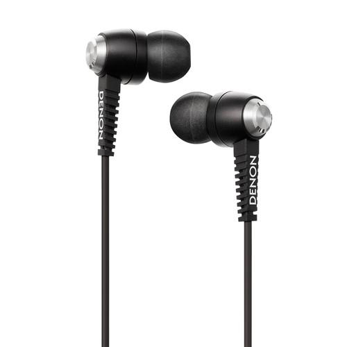 Denon Music Maniac AH-C120MA In-Ear Headphones (Black) AHC120MA