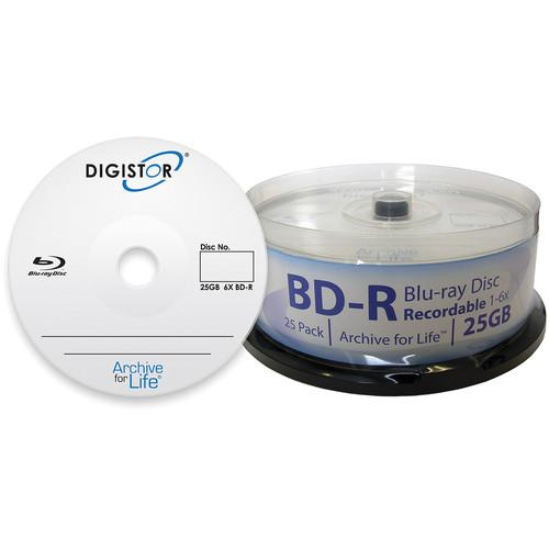 Digistor Archive for Life 25GB 6X Recordable Blu-ray DIG-11236