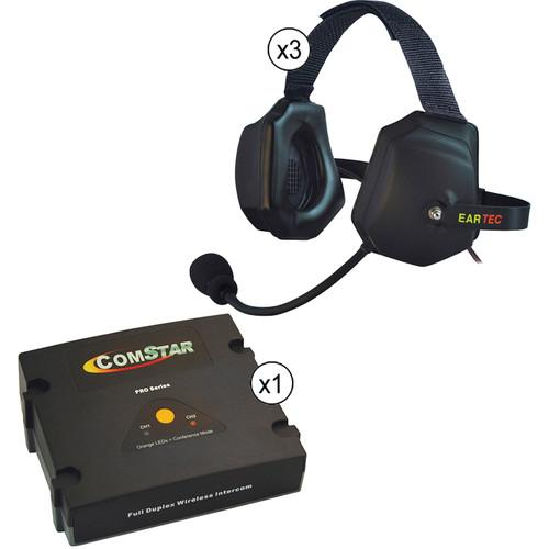 Eartec ComStar XT Full Duplex Wireless System with XTreme ETXC-3