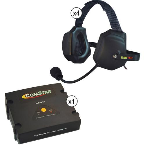 Eartec ComStar XT Full Duplex Wireless System with XTreme ETXC-4