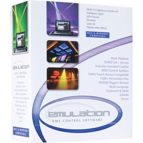 Elation Professional EmuLATION DMX Control Software EMULATION