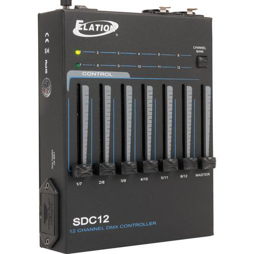 Elation Professional SDC12 12-Channel Basic DMX Controller SDC12