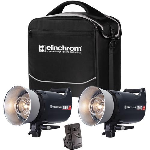 Elinchrom ELC Pro HD 1000/1000 To Go 2 Light Kit EL20667.2
