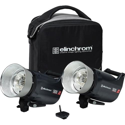 Elinchrom ELC Pro HD 500/500 To Go 2 Light Kit EL20666.2