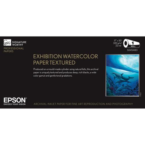 Epson Exhibition Watercolor Paper Textured S045483