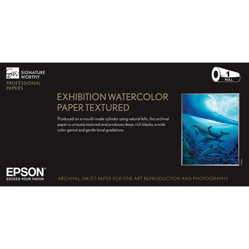 Epson Exhibition Watercolor Paper Textured S045484
