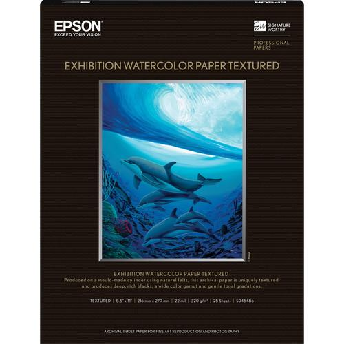 Epson Exhibition Watercolor Paper Textured S045486