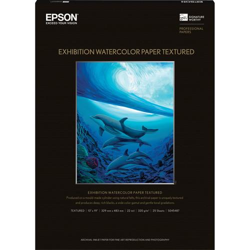 Epson Exhibition Watercolor Paper Textured S045487