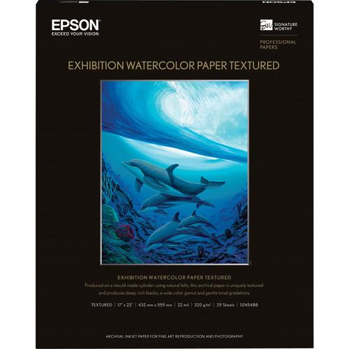 Epson Exhibition Watercolor Paper Textured S045488