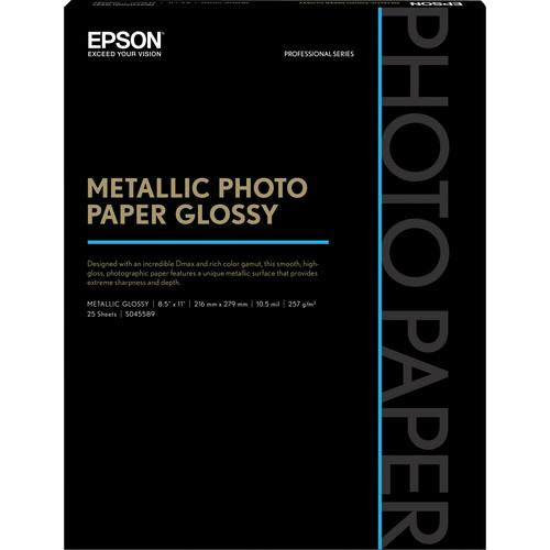 Epson  Metallic Photo Paper Glossy S045589