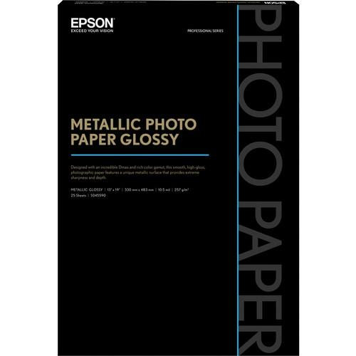 Epson  Metallic Photo Paper Glossy S045590