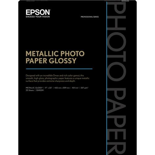 Epson  Metallic Photo Paper Glossy S045591