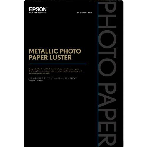 Epson  Metallic Photo Paper Luster S045597