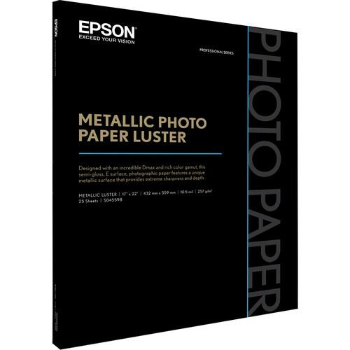 Epson  Metallic Photo Paper Luster S045598