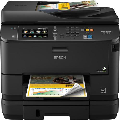 Epson WorkForce WF-4640 Wireless Color All-in-One C11CD11201