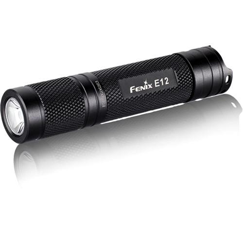 Fenix Flashlight  E12 LED Flashlight E12-R4-BK