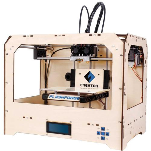 Flashforge Creator 3D Printer (Wood Case) 3D-FFG-CREWO