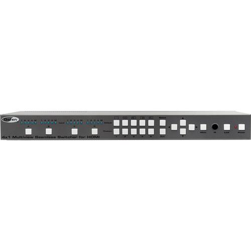 Gefen 4x1 Multiview Seamless Switcher for HDMI EXT-HD-MVSL-441