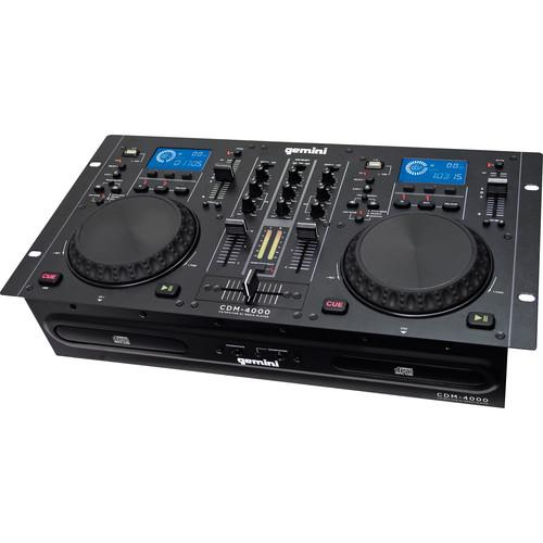 Gemini CDM-4000 CD/MP3/USB DJ Media Player CDM-4000