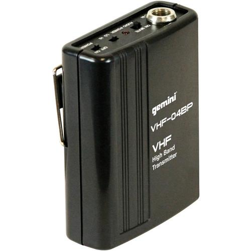 Gemini VHF-04BP - Beltpack Transmitter for VHF-1001M VHF-04BP