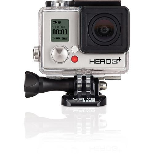 GoPro GoPro HERO3  Silver Edition w/ GoPro Wall Charger &