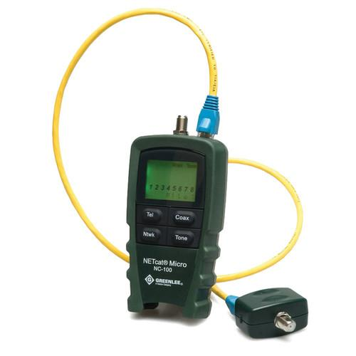 Greenlee NC-100 NETcat Micro Wiring Tester NC-100