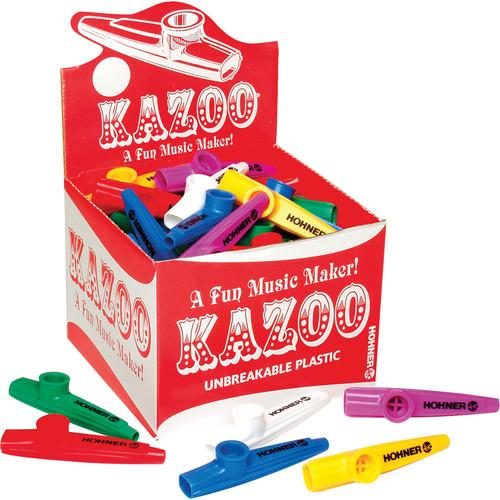 Hohner 50 Piece Box Of Kazoos (Assorted Colors) KC 50