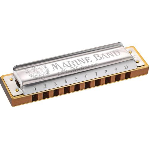 Hohner Hohner 1896 Marine Band Pro Pack (3-Pieces) 3P1896BX