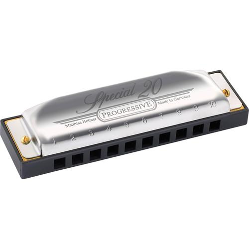 Hohner Special 20 Harmonica with Retail Box (Key of Bb) 560BX-BB