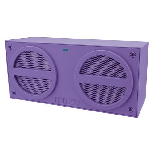 iHome Bluetooth Rechargeable Stereo Mini Speaker in IBN24UX