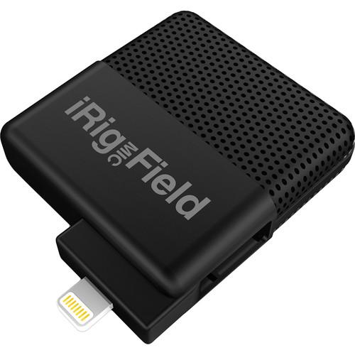 IK Multimedia iRig Mic Field- Stereo Digital IP-IRIG-FIELD-IN